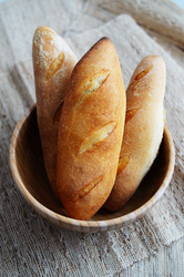 Super easy mini french baguettes