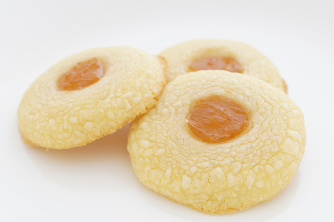 Shortbread Cookies with Apricot Jelly - It's Tasty Time!