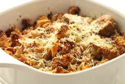 Truffle stuffing with parmesan cheese