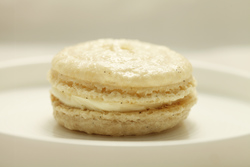 High altitude french vanilla macarons